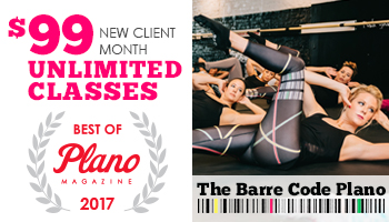 Best of Plano 2017 The Barre Code