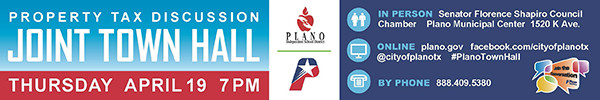 City of Plano – Joint Town Hall