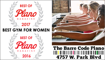 Best of Plano 2018 – The Barre Code Plano