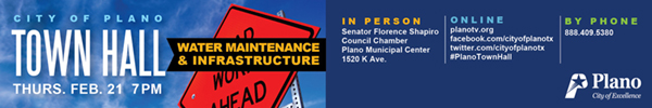 City of Plano – Town Hall 2019