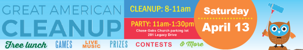 City of Plano – Great American Cleanup 2019