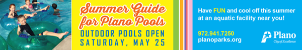 City of Plano – Summer Guide for Pools