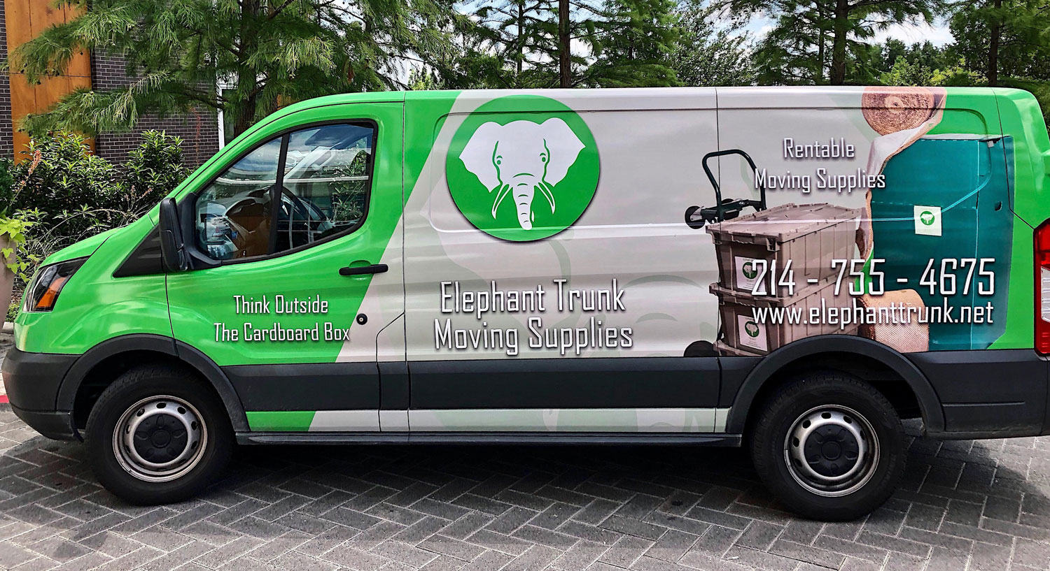 courtesy Elephant Trunk Moving Supplies