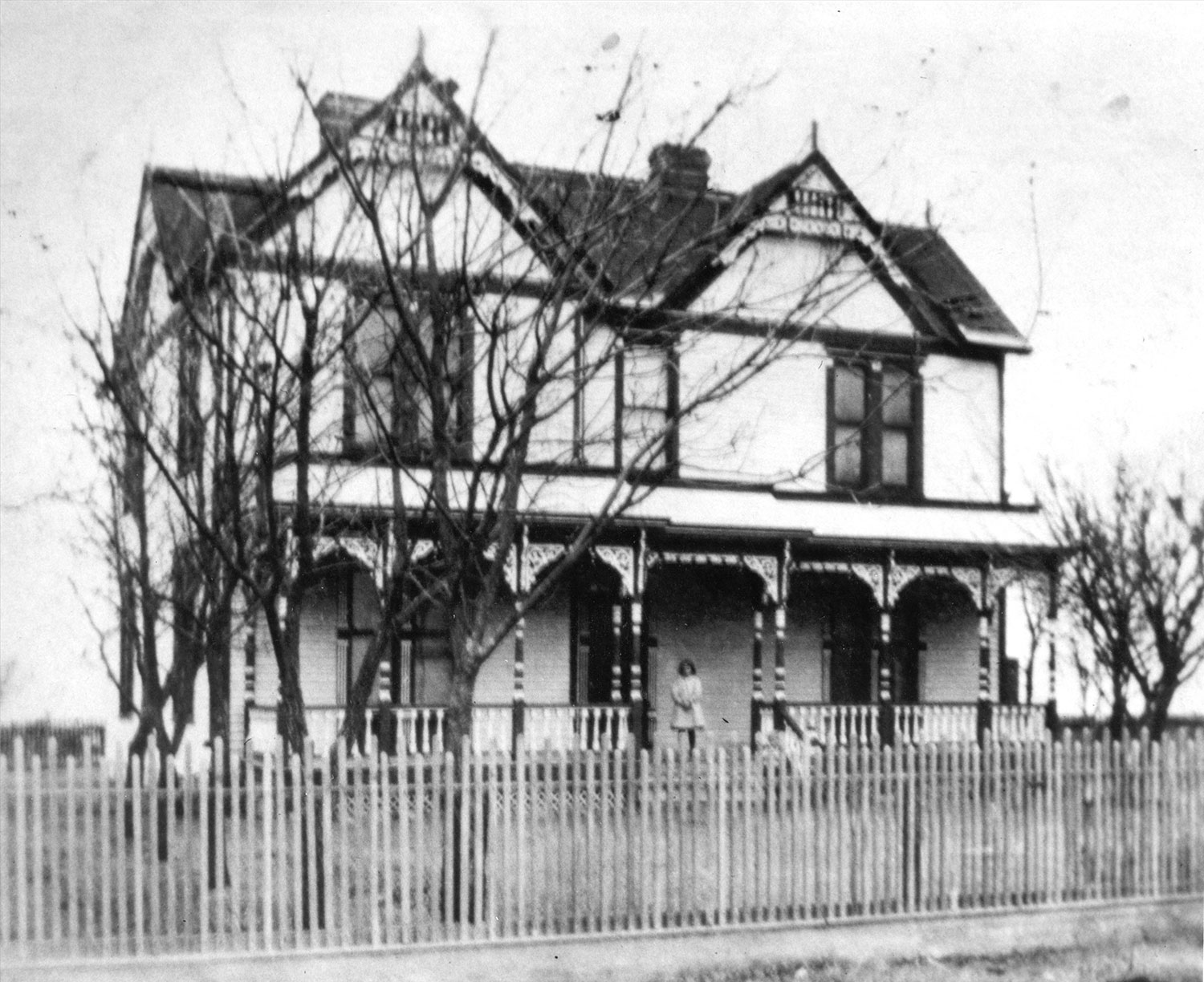 Wells Homestead // from Wells family archives, courtesy Patti Snell
