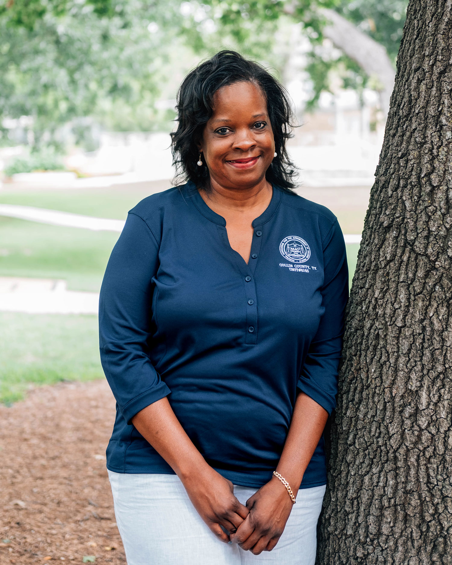 Collin County NAACP President June Jenkins // photo Hunter Lacey