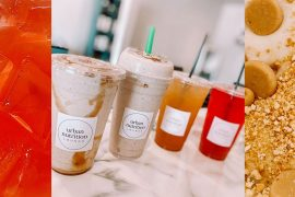 Shakes and teas // photos courtesy Urban Nutrition Lounge