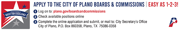 City of Plano – Boards and Commission 2020