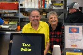 Taco Delite founders, Jerry and Wanda Rose // courtesy Rose family