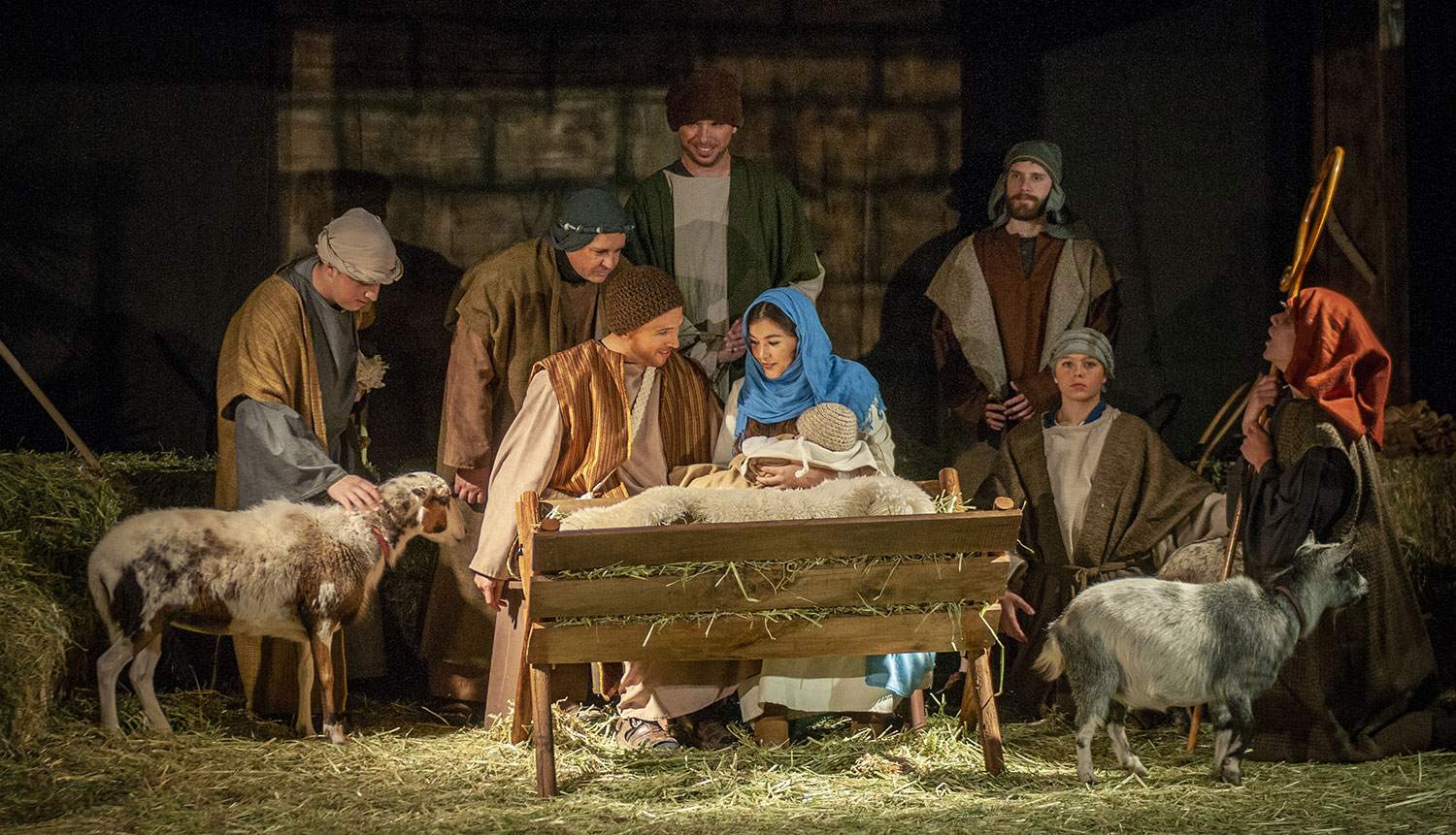 Journey of Lights will offer a live nativity // courtesy JumpStory